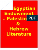 The Egyptian Endowment of Palestinian & Hebrew Literature