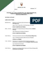 Agenda Pm Prensa
