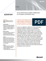 Microsoft Case Study- Exostar Enables Integrated Security, Identity, And Access