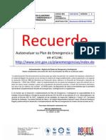 GUÍA PARA ELABORAR PLANES DE EMERGENCIA Y CONTINGENCIAS