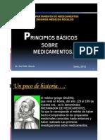 Presentacion Sobre Principios Basicos Sobre Medicamentos