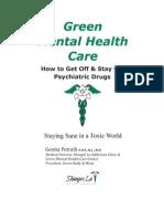 Green Mental Healthcare