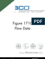 Circuit Balancing Valve - 1710 Flow Data Manual