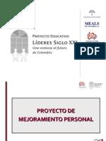 12- Proyecto de Mejoramiento Personal