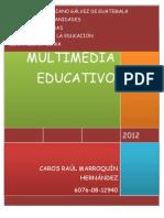 Multimedia Multimedia Educativo Carlos Marroquin