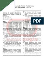 Tecnico Inss 2012 d Constitucional