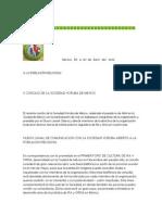 V Concilio de La Sociedad Yoruba de Mexico
