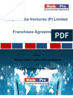 Franchisee Agreement Revised