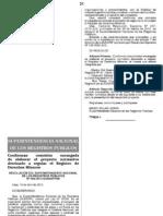Conforman Comision - Proyecto Registro de Derechos Mineros