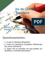 T 1 Conceito de Literatura Brasileira