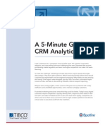 5 Min Guide to CRM Analytics