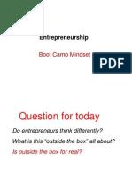 BootCamp Mindset 051609