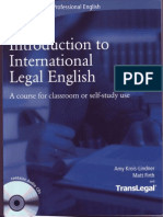 Introduction Legal English Units 1-3