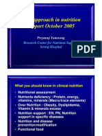 Case Approach in Nutrition Support
