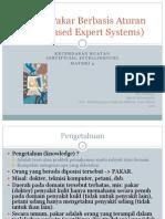Ai2011 3 Sistem Pakar Berbasis Aturan