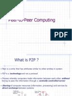 p2p Computing Presentation ppt
