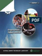 Employment Opportunities Brochure