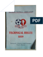 MFA Technical Rules 2009 (Fifth Edition)