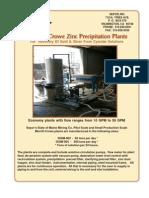 MerCrowe Zn Process