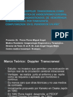 Ultrasonido  Doppler  transcraneal1