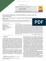 Energy Efficiency - Comarision