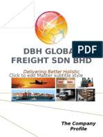 Dbh Global Freight Co Profile