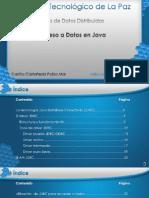 Acceso a Datos en Java