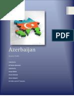 Country Profile of Azerbaijan FINAL