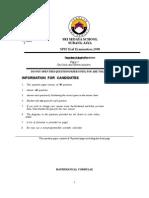 Trial Math Paper1