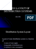 Ce 370 - Design Layout of Distribution Systems