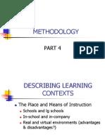 Methodology Part 4