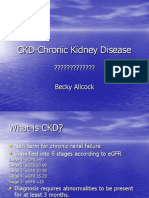 Becky Allcock - CKD-Chronic Kidney Disease 110907
