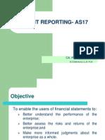 Segment Reporting- As17