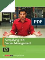 Simplifying SQL Server Management