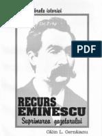 Recurs Eminescu - Calin L. Cernaianu