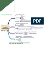 mapa mental de  portugues( porque,porque,porquê,por quê)
