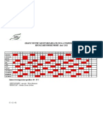 Grafic Monitorizare Temp1 Incaperi 2011