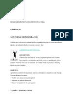 DINÁMICA DE GRUPOS EN ANIMACIÓN SOCIOCULTURAL