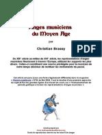 Anges Musicaux Moyen Age