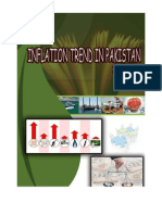 Inflation Trend in Pakistan 2010