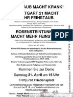 Feinstaub Demo 21.04