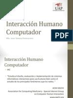 Tema XX - Interacción Humano Computador