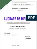 laringita acuta