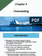 05 Forecasting