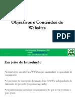 Teoricas-DAW 8 Objectivos e Conteudos