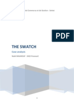 Strategic Management Case Analysis of the SWATCH