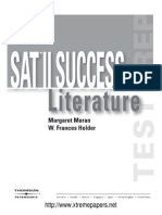 SAT II Success Literature