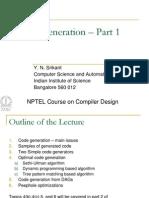 Code Gen Part 1