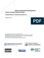 Report Coordination of Workforce and Economic Development