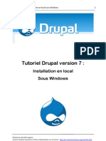 Tutoriel Installation Drupal 7